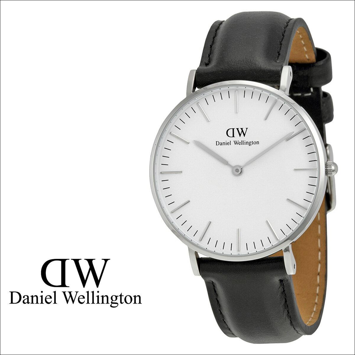 Daniel Wellington ダニエルウェリントン 36mm 腕時計 レディース CLASSIC SHEFFIELD LADY シルバー [S50][返品不可]