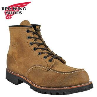 [SOLD OUT]紅翅膀RED WING J CREW 6 inchimokkutubutsudakusutoro 4580 6inch Moc Toe Boots rezajiekuru注釋Made in USA紅翅膀人
