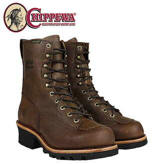 e090217ef26 CHIPPEWA チペワ 8 inches logger boots bay Apache 73100 8INCH BAY APACHE W P  LACE TO TOE LOGGER 2 Wise leather BAY APACHE men