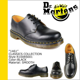 [卖出] 马滕斯博士 1461年 3 Dr.Martens 大厅鞋 [黑樱桃红色] 10085001 10085600 经典皮革男装女装 3 眼鞋