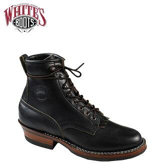 [卖出] 白人靴子白色的靴子 6 寸赏金猎人 [黑色] 6 英寸赏金猎人 E 明智黑铬 EXCEL 男装 350W06 白人靴子赏金猎人