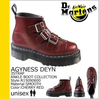 [SOLD OUT]博士马丁Dr.Martens吊带长筒靴AGGY STRAP R15090600人