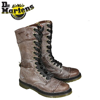 博士马丁Dr.Martens 1914 12礼堂长筒靴女士WOMENS TRIUMPH R12108202人