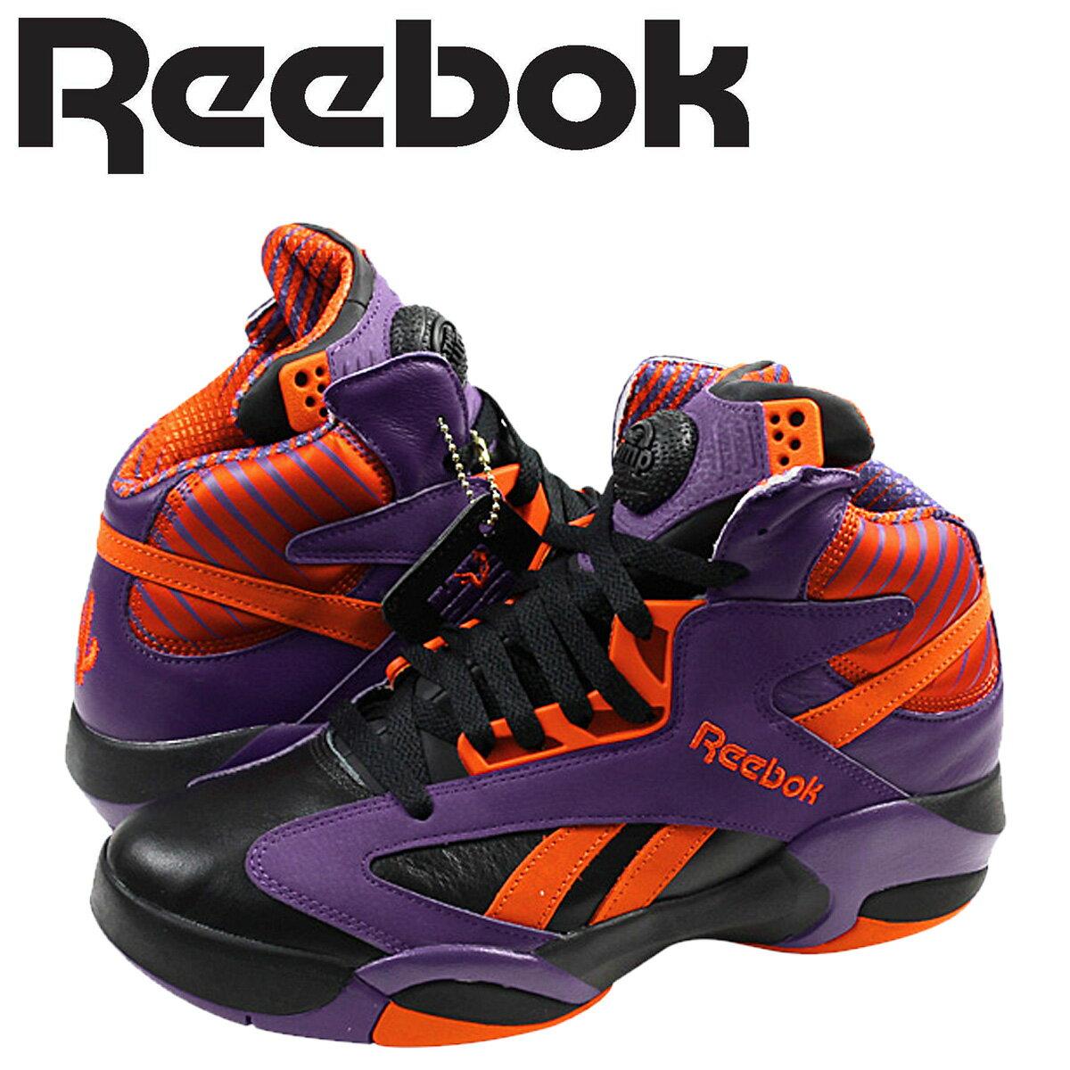 Reebok リーボック シャック スニーカー SHAQ ATTAQ PHOENIX SUNS V61029 メンズ 靴 パープル 【CLEARANCE】
