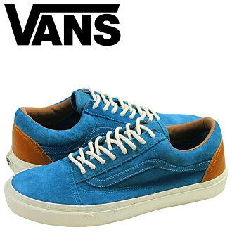 货车货车旧斯库尔重新颁发 CA 运动鞋以前的学校补发麂皮绒男装蓝色麂皮加州线 VN 0KW79S5