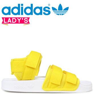 6add4704776e adidas Originals阿迪萊塔愛迪達涼鞋ADILETTE SANDAL 2.0 W 女士CQ2673黄色原始物 預訂商品3 20左右打算進貨新入貨物