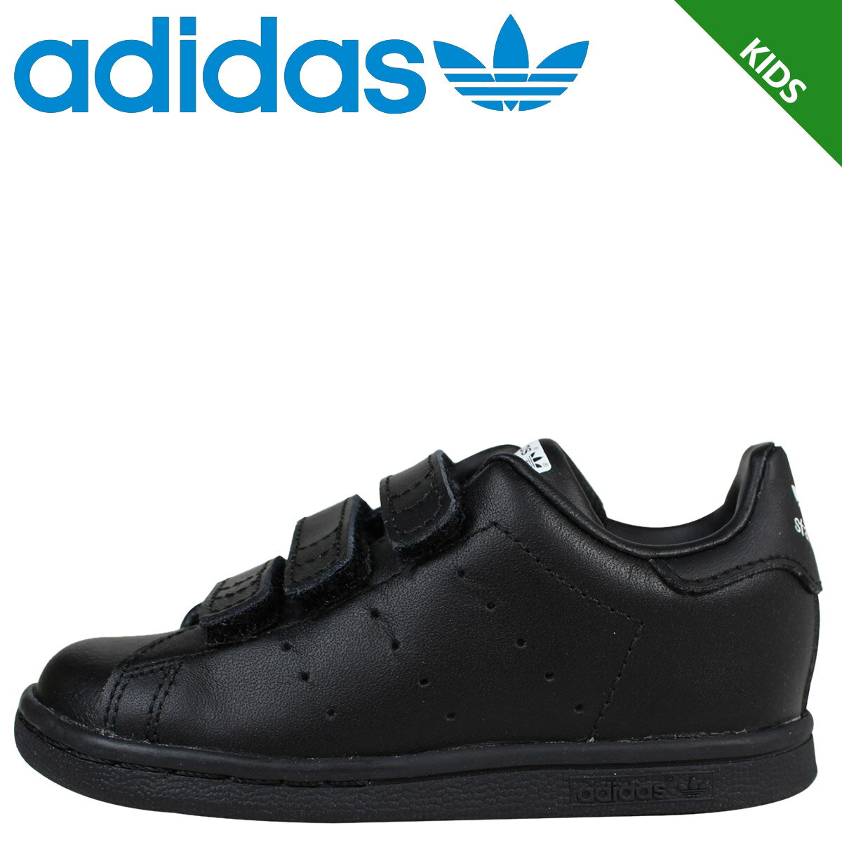 adidas アディダス スタンスミス スニーカー ベビー キッズ STAN SMITH CF I M20608 靴 ブラック