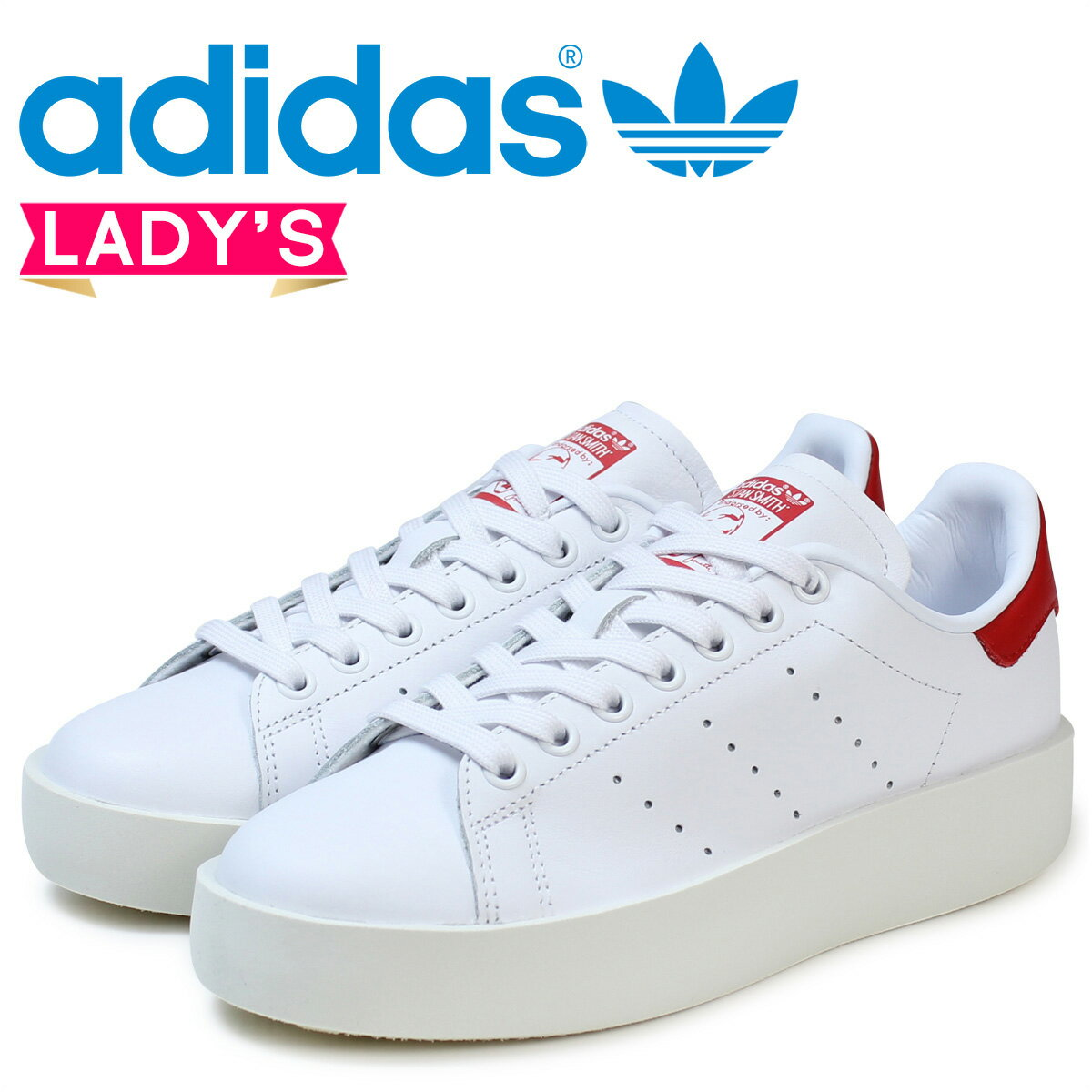 adidas スタンスミス レディース スニーカー アディダス Originals STAN SMITH BD W S32267 靴 ホワイト オリジナルス