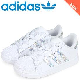 adidas Originals アディダス オリジナルス スーパースター スニーカー ベビー SUPER STAR EL I ホワイト 白 CG6707