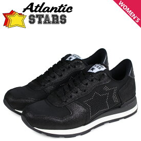 Atlantic STARS アトランティックスターズ ベガ スニーカー レディース VEGA ブラック 黒 BO1-81N