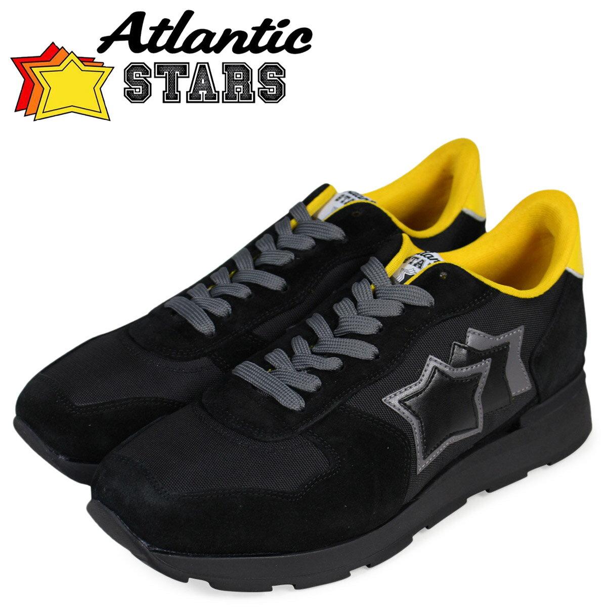 Atlantic STARS メンズ スニーカー アトランティックスターズ アンタレス ANTARES NTG-72N 靴 ブラック