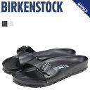 BIRKENSTOCK ビルケンシュトック マドリッド EVA ビルケン サンダル エバ 普通幅 MADRID メンズ ブラック ホワイト 黒 白