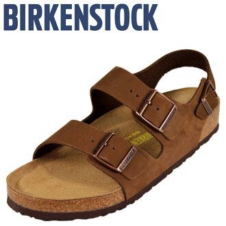 [卖出] 勃肯勃肯米兰米兰 [正常宽度软鞋垫磨砂,男装女装凉鞋鞋室中性 [定期]