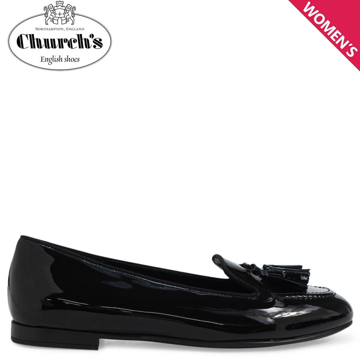 Church's 靴 チャーチ レディース ローファー NINA LOAFERS ブラック DS0001