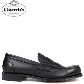 Churchs 靴 チャーチ ペンブリー ローファー メンズ PEMBREY LOAFERS レザー ブラック 黒 EDB003