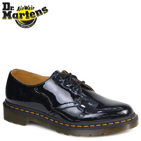 Dr.Martens 3ホール 1461 レディース ドクターマーチン オックスフォード シューズ WOMENS 3EYE SHOE R10084001 ブラック 黒 メンズ