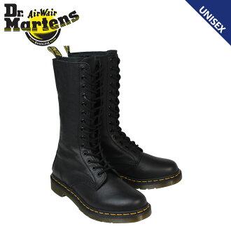 博士马滕斯 Dr.Martens 女士男装女装 1B99 14EYE 引导靴子 14 孔靴 R11820008 黑色