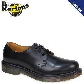 Dr.Martens 3ホール 1461 PW メンズ レディース ドクターマーチン オックスフォード シューズ 3EYELET SHOE R11839002 ブラック 黒