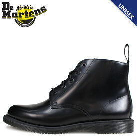 Dr.Martens ドクターマーチン 5ホール ブーツ メンズ レディース EMMELINE KENSINGTON 5EYE BOOT ブラック 黒 R16701001
