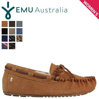 EMU EMU amity Sheepskin moccasin W10555 AMITY mocassino suede Womens mens boots