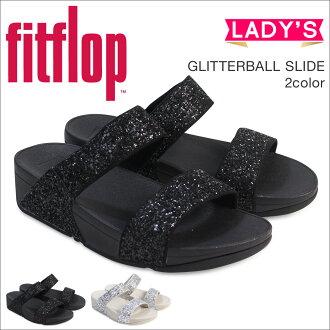 FitFlop凉鞋合身FLOP灿烂放映装置GLITTERBALL SLIDE H24女士[4/4新进货]