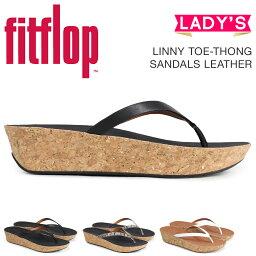 合身FLOP涼鞋FitFlop raini LINNY TOE-THONG SANDALS LEATHER女士K46黑色棕色[4/4新進貨]