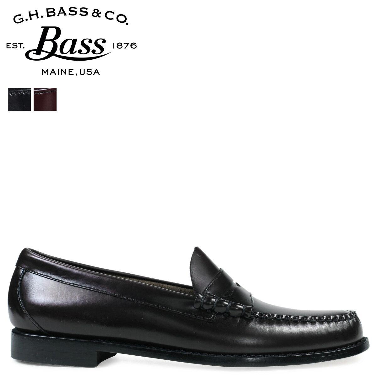 ジーエイチバス ローファー G.H. BASS メンズ LARSON 70-10914 70-10919 靴 2カラー [5/9 追加入荷]