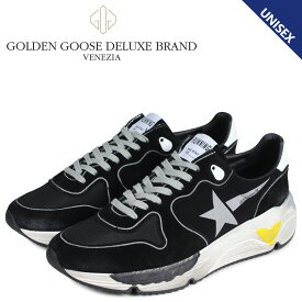 Golden Goose ゴールデングース ランニングソール スニーカー メンズ レディース RUNNING SOLE ブラック 黒 G34MS963 A2