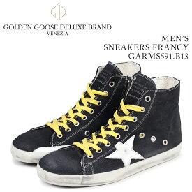 Golden Goose ゴールデングース スニーカー メンズ フランシー SNEAKERS FRANCY ブルー GARMS591 B13