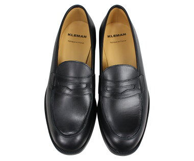 クレマンKLEMANダリオール靴ローファーメンズDALIOR2ブラック黒XA11102[4/3新入荷]