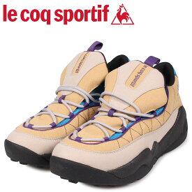 le coq sportif ルコック スポルティフ スニーカー LCS TR メンズ ベージュ QL2OJC52GB [9/11 新入荷]