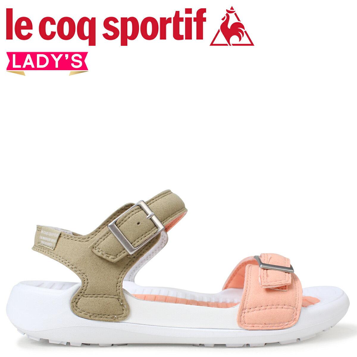 le coq sportif ルコック スポルティフ レディース サンダル レディース サンダル LA ジュアン アクティブ 2 JUAN ACTIVE 2 ホワイト 白 QL3LJE30OB