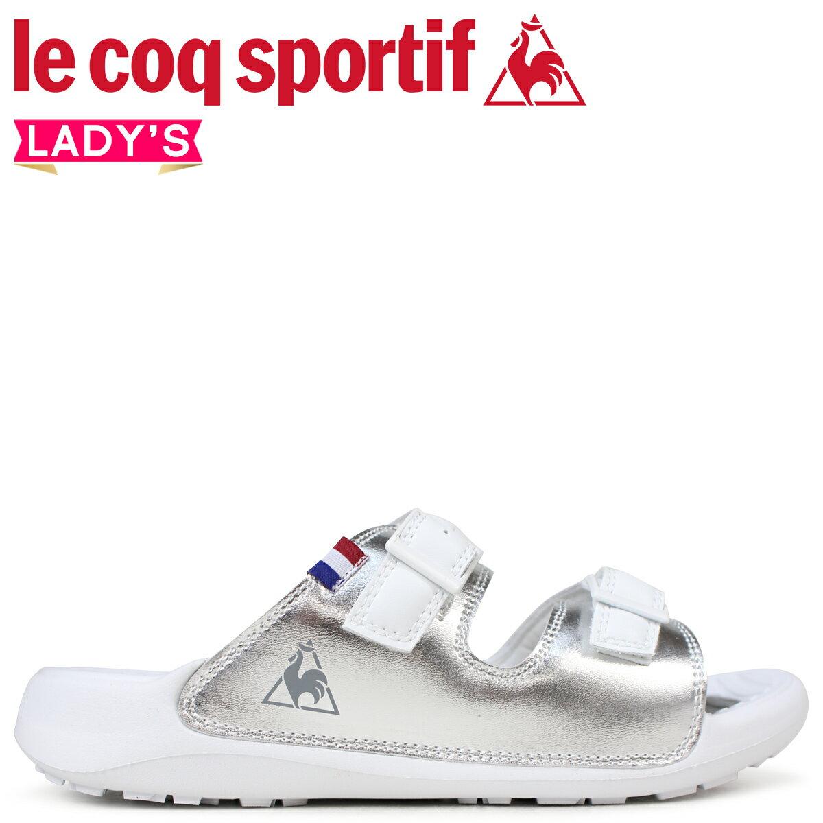 le coq sportif ルコック スポルティフ レディース サンダル LA ジュアン リラックス 2 LA JUAN RELAX 2 ホワイト QL3LJE31SV [予約商品 7/20頃入荷予定 追加入荷]