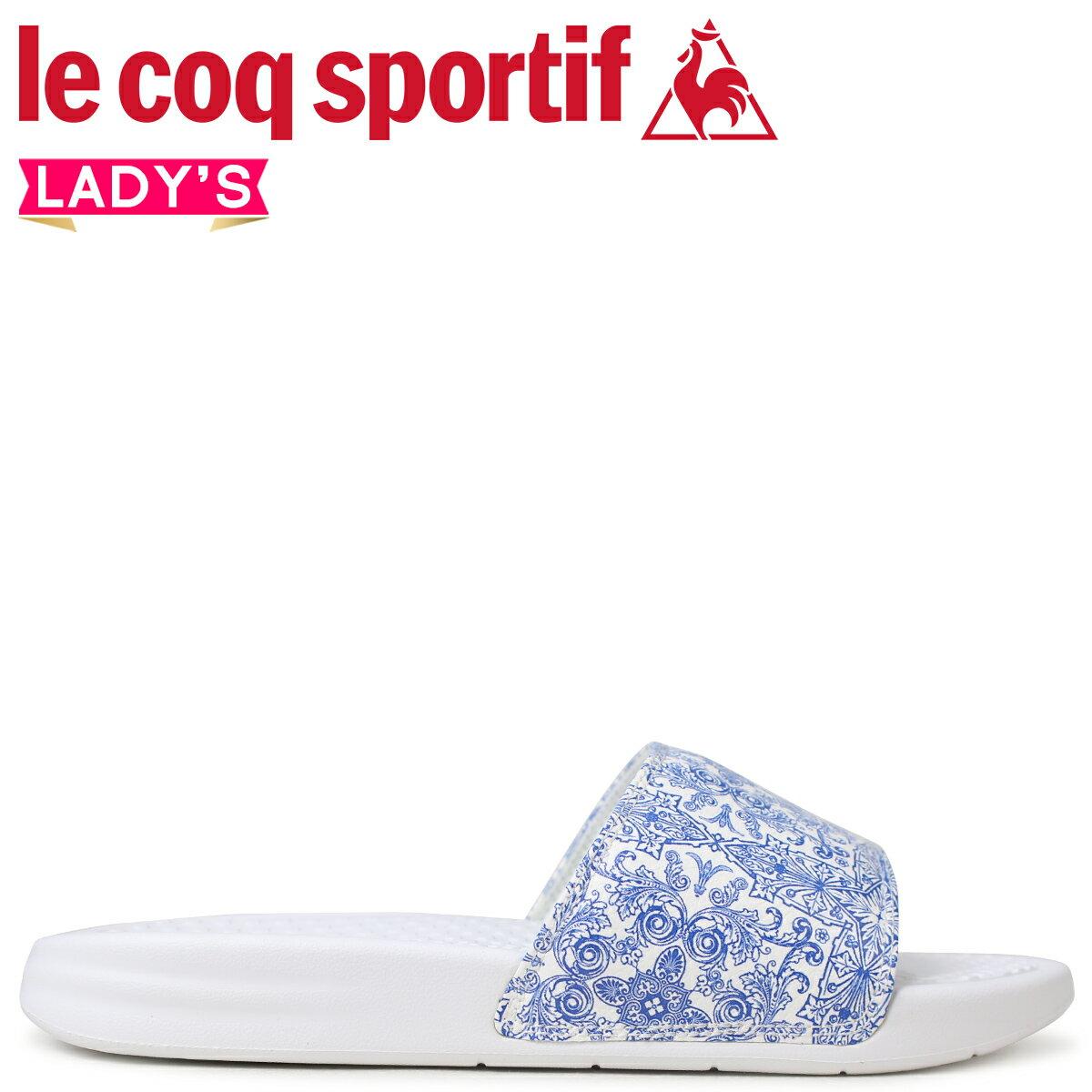 le coq sportif ルコック スポルティフ レディース サンダル シャワーサンダル ナプール NAPOLE ホワイト 白 QL3LJE32PB
