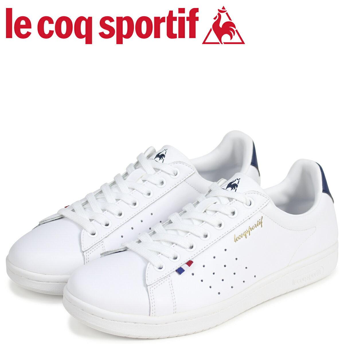 le coq sportif ルコック スポルティフ メンズ スニーカー LA ローラン LE ROLAND ホワイト QMT-7313WN [予約商品 4/26頃入荷予定 追加入荷]