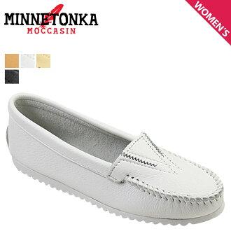 Minnetonka MINNETONKA moccasin deerskin Gore front [4 colors] DEERSKIN GORE FRONT leather ladies 42 44 47 49 MOC [regular]