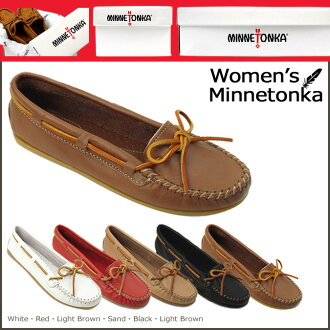 SMOOTH LEATHER MOCCASIN Leather Womens, Minnetonka MINNETONKA leather moccasins