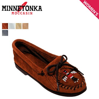 Minnetonka MINNETONKA Thunderbird boat sole moccasins THUNDERBIRD BOAT SOLE ボートソール ladies