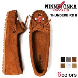 ミネトンカ MINNETONKA モカシン サンダーバード 2 レディース フラットシューズ THUNDERBIRD II
