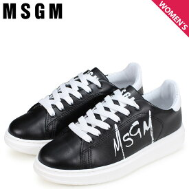 MSGM TRAINERS WITH PAINT BRUSHED LOGO エムエスジーエム スニーカー レディース ホワイト 白 2641MDS1708 123 01