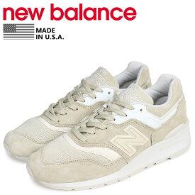 5dc56df6b593b new balance ニューバランス 997 スニーカー メンズ Dワイズ MADE IN USA ベージュ M997PAB