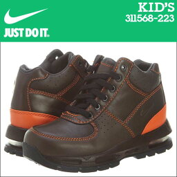 [9000雙NIKE耐吉空氣最大運動鞋小孩AIR MAX GOADOME PS空氣最大戈爾半圓形屋頂311568-223鞋棕色的]