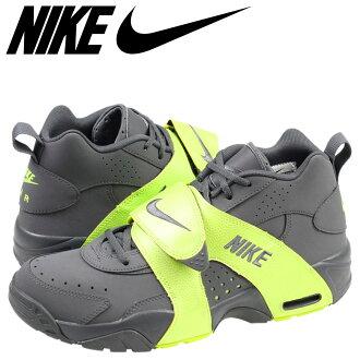 耐克空氣轉向耐克運動鞋空氣轉向皮革男裝 599442-001 暗灰色/伏暗灰色