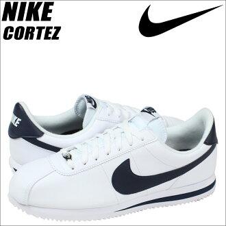 [賣出] 耐克 NIKE Cortez 運動鞋 CORTEZ 基本皮革 819719 141 男鞋白色