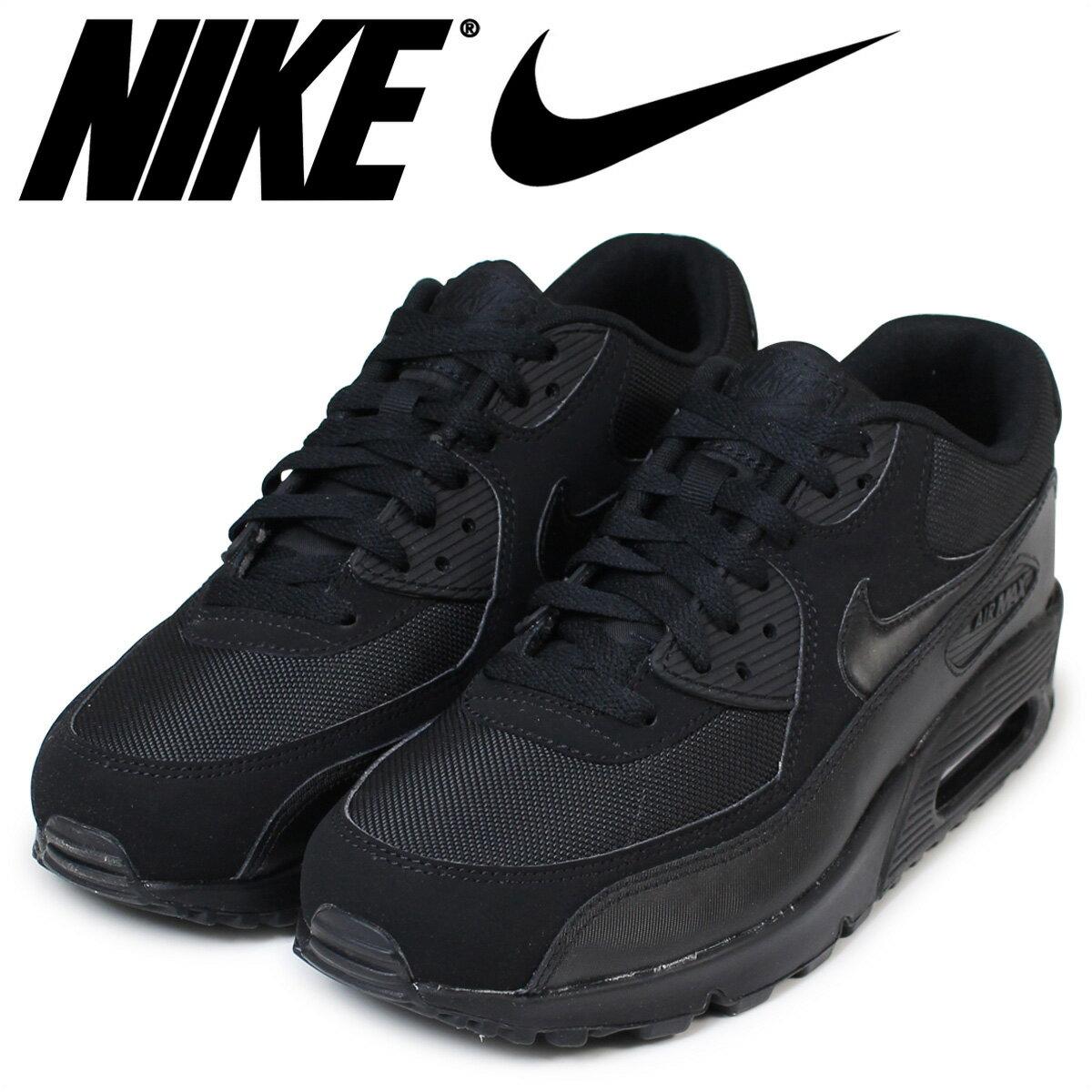 NIKE ナイキ エアマックス90 エッセンシャル スニーカー AIR MAX 90 ESSENTIAL 537384-090 メンズ 靴 ブラック [予約商品 4/23頃入荷予定 追加入荷]