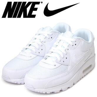 Point 2 x Nike NIKE AIR MAX 90 ESSENTIAL sneakers Air Max 90 essential leather mens Air Max 537384-111 WHITE/WHITE white unisex [11 / 21 new in stock] [regular] 02P30Nov14