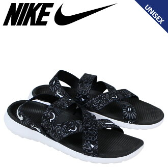 NIKE naikiroshiwansandaruredisu WMNS ROSHE ONE SANDAL 832644-011人鞋黑色