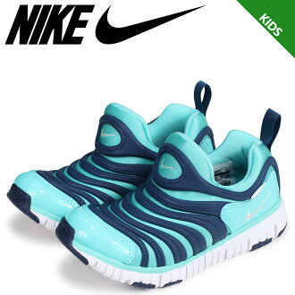 NIKE Nike dynamo-free kids sneakers DYNAMO FREE PS 343,738-310 blue [load planned Shinnyu load in reservation product 9/25 containing]