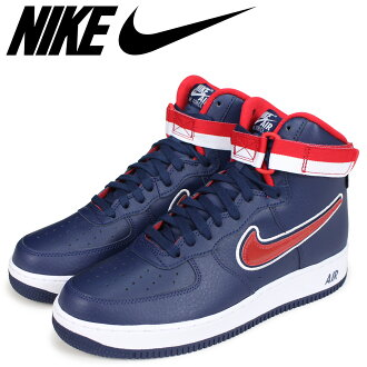 online retailer ef8d3 7766e NIKE Nike air force 1 high sneakers men AIR FORCE 1 07 LV8 SPORT AV3938-400  navy  load planned Shinnyu load in reservation product 10 15 containing