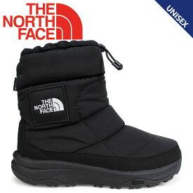 ノースフェイス THE NORTH FACE ヌプシブーティ ブーツ メンズ レディース NUPTSE BOOTIE WP IV LOGO ブラック NF51876 [11/21 再入荷]